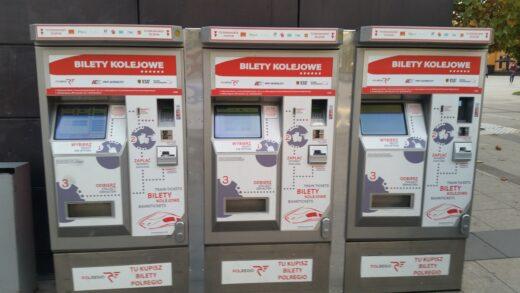 Automat biletowy - Wrocław