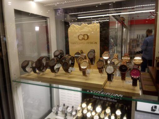 Ekspozytor - zegarki
