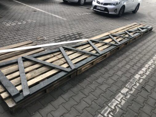 Kratownica dachu - kompozyt