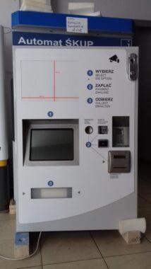 Automat biletowy
